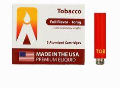 Volcano e-cigarette USA-Made MAGMA Prefilled Cartomizers - Tobacco, www.powersmoke.com Usa, How To Make, U.s. States