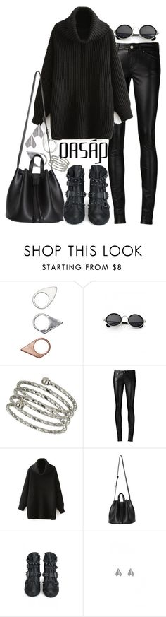 """Oasap #4"" by nikka-phillips ❤ liked on Polyvore featuring Monki, Retrò, Topshop and Yves Saint Laurent"