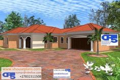 5 Bedroom House Plans, House Floor Plans, Site Plans, Garage Plans, Appetisers, Home Collections, Houses, House Design, How To Plan