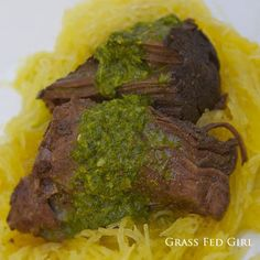 Easy Chimichurri Paleo Meat Sauce