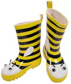 Bee Rainboots