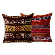"Eiffel Zebra Umbrella Nordic Velvet Embroidery Cushion Cover Pillow Case 17/"""