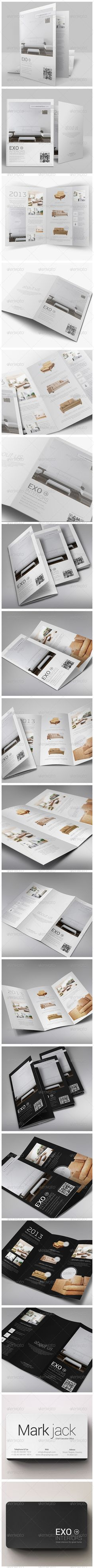 Brochures Pack A4 + Trifold + Business Card