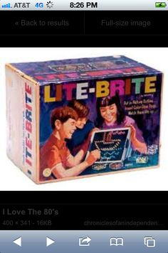 Toys we had in the 80s