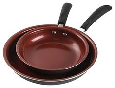 Gibson Home Hummington Ceramic Non-Stick Fry Pan Set, Red >>> Hurry! Check out this great product : Skillets and Fry Pans Gibson Home, Ceramic Non Stick, Skillets, Ceramics, Make It Yourself, Red, Pan Set, Link