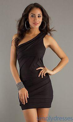 Black Bandage Dress  at SimplyDresses.com