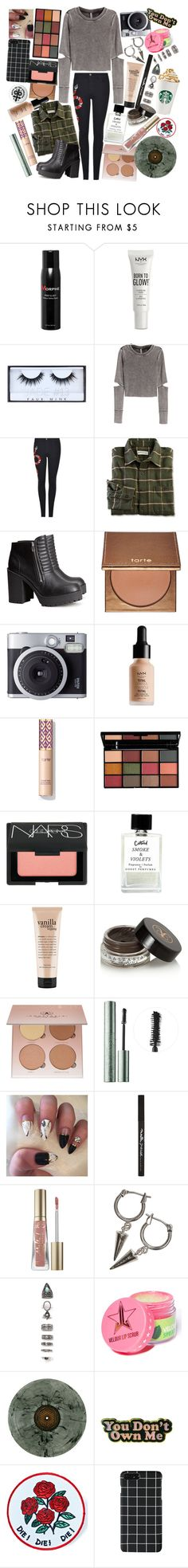 """You say that you're no good for me, cuz I'm always tugging at your sleeve. And I swear I hate you when you leave, but I like it anyway"" by thelyricsmatter ❤ liked on Polyvore featuring Morphe, NYX, Huda Beauty, H&M, Gucci, tarte, Fujifilm, NARS Cosmetics, philosophy and Anastasia Beverly Hills"
