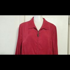 Westbound ladies zip up jacket Red zip up westbound Jackets & Coats