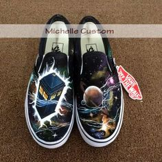 Classical Galaxy Vans Galaxy Shoes Vans Custom Shoes Hand Painte