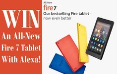 Win An All-New Fire 7 Tablet With Alexa