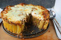 Rigatoni pasta taart 2
