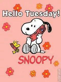"""Happy Tuesday ~~ Click on the pic to access my growing collection of Tuesday morning greetings on my Facebook Page. ~~ Please """"Friend"""" me or """"Follow"""" me while you're there. ~~ Have a wonderful day."""