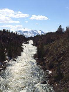 A shot from the Yukon swinging bridge Yukon Alaska, Bridge, Mountains, Nature, Travel, Outdoor, Voyage, Outdoors, Viajes