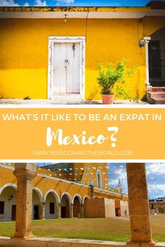 Ever wondered what it's like to be an expat in Mexico? In this edition of Expat Tales, meet Cassie Pearse, a UK freelance writer living with her family in the Yucatan. She shares her tips on living in Mexico and how she's found a better work life balance. Mexico Yucatan, Moving Overseas, Living In Mexico, Mexico Culture, Mexico Resorts, Work Abroad, Visit Mexico, Mexico Travel, Best Cities
