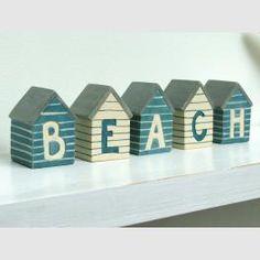 Love these beach huts.