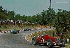 1938 Coppa Acerbo (Pescara) #34 Vittorio Belmondo Alfa Romeo 308, #48 Gianfranco Comotti Delahaye 145, #36 Rene Dreyfus Delahaye 145 Auto Racing, Alfa Romeo, Grand Prix, F1, Race Cars, Antique Cars, City, Formula 1, Drag Race Cars
