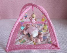 """~SMALL FLOOR GYM FOR OOAK TYPE BABY DOLLS, 4""""-6""""~ Toys"""