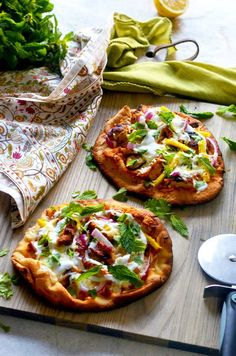 Pin for Later: 16 Indian Chicken Recipes That Are Better Than Takeout Tandoori Chicken Naan Pizza Get the recipe: tandoori chicken naan pizza