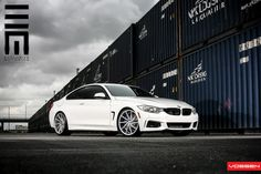 Alpine White BMW 435i By Exclusive Motoring - http://www.bmwblog.com/2014/11/18/clean-alpine-white-bmw-435i-exclusive-motoring/