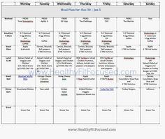 Week 1 and Week 2- P90X3 Women's Progress Update and Meal Plan www.HealthyFitFocused.com www.teambeachbody.com/JulieLittle