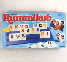 Rummikub Game '97 Original Pressman USA 106 Engraved Rummy Tiles New Rack Design  | eBay