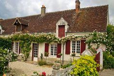 #france, #loirevalley, #chedigny   Satul Chédigny și trandafirii săi