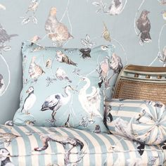 Luxury Wallpaper, Maximalist Wallpaper, Bird Wallpaper | House of Hackney
