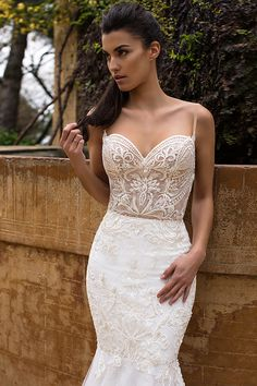 Wedding dresses Milla Nova 2016 available at Viero Bridal in Chicago and Philadelphia | lace wedding dresses | wedding dresses mesh | wedding dresses mermaid | wedding dresses without sleeves | wedding A line | Bridal dresses