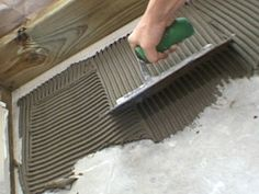 Mastic Vs Thinset Quot Thin Set Is A Mixture Of Cement