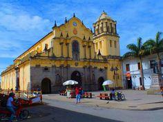 Colombia - Templo en Popayan, Cauca.