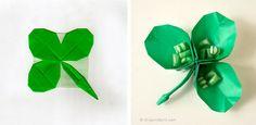 01-origami trevos-500