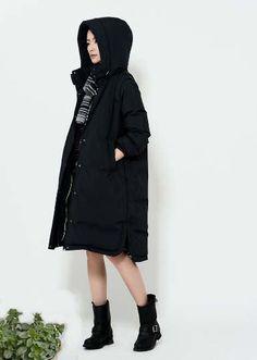 A-Line Down Coat/Winter Down Coat/Women Winter Coat/Thick