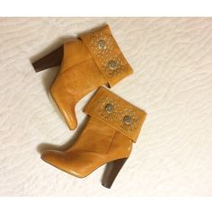 ☀️LIGHT MOCHA BOOTIES NWOT. Brand is BAKERS. VERY comfy and classy. Size 9 women's.  these are perfect to dress up or with your favorite pair of jeans. Have only been worn around the house and are a true size 9. Thicker heel with a lot of support. PURCHASE NOW Bakers Shoes Ankle Boots & Booties