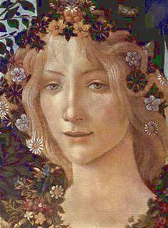 Pintor Sandro Botticelli (Alessandro di Mariano Filipepi), nacido en Florencia, Italia, 1445-1510.