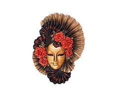 Venetian festival: Венецианская маска - полистоун - Д28 x Ш22