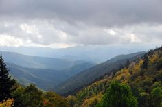Luftee Overlook on Newfound Gap Road