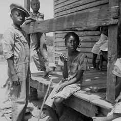 Children of the Mississippi Delta, 1936 by Black History Album, via Flickr