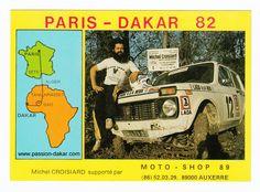 Carte postale MICHEL CROISIARD DU 4 éme PARIS-ALGER-DAKAR 1982.jpg (947×701)
