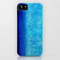 Blue Serenity iPhone Case by Bruce Stanfield - $35.00