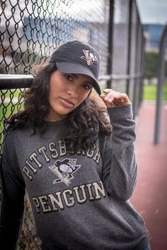 41be1a8c Cozy winter style--perfect for cheering on the Penguins while sitting  rinkside. ❄