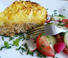 Types Of Food, Meatloaf, Lasagna, Baked Potato, Quiche, Risotto, Zucchini, Potatoes, Chicken