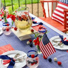 """Small Cloth American Flags on Wooden Sticks - 6"""" x 4"""" 