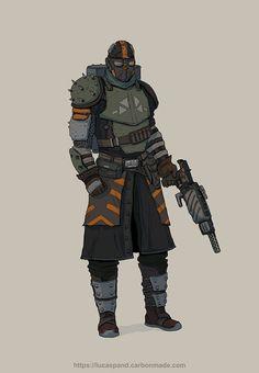 Character design , Lucas Pandolfelli on ArtStation at https://www.artstation.com/artwork/WGkVG