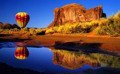 Vehicles Hot Air Balloon  Wallpaper