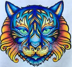 My fire and ice tiger from Magical Jungle :) #selvamagicaoficial #johannabasford #magicaljungle #magicaljunglecoloringbook #마법의정글 #gellyroll #selvamagica #раскраска #раскраскадлявзрослых #enchantedforestcoloringbook #prismacolor #colorful #colortherapy #coloring #adultcoloringbook #coloringtherapy #gellyroll #джунгли #зачерованныйлес #таинственныйсад #coloring_secrets #coloringmasterpiece #tiger #boracolorirtop #desenhoscolorir #coloring_secrets #zenbio