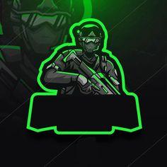 Team Logo Design, Logo Desing, Foto Logo, Logo Esport, Logo Dragon, Ninja Logo, Video Game Logos, Logos Retro, Esports Logo
