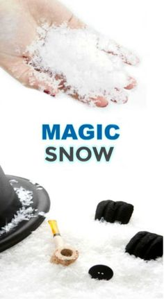 """kids of all ages and make snow that erupts! """"cool"""" science meets winter fun with this simple activity!Wow kids of all ages and make snow that erupts! """"cool"""" science meets winter fun with this simple activity! Science Experiments For Preschoolers, Science Projects For Kids, Fun Crafts For Kids, Science For Kids, Christmas Crafts For Kids, Toddler Crafts, Science Fun, Prim Christmas, Snow Recipe"""