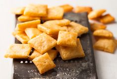Cheese Crackers from Leite's Culinaria
