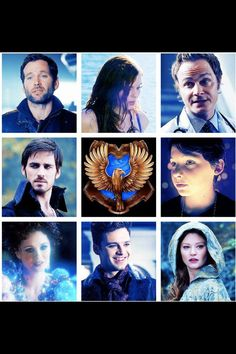Ravenclaw sorted Once Upon a Time characters.