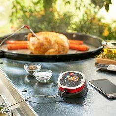 Das Grill-Thermometer iGrill 2 von Weber macht das perfekte Grillen zum Kinderspiel. Die exakte Kontrolle der Grilltemperatur ermöglicht jedem den perfekten Garpunkt.